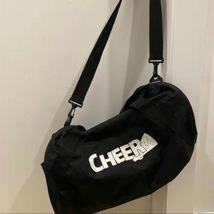 Cheer duffle- pockets, adjustable crossbody